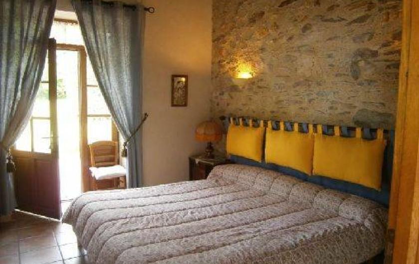 Location de vacances - Gîte à Mareuil-sur-Lay-Dissais - chambre 3 -2 litsx90