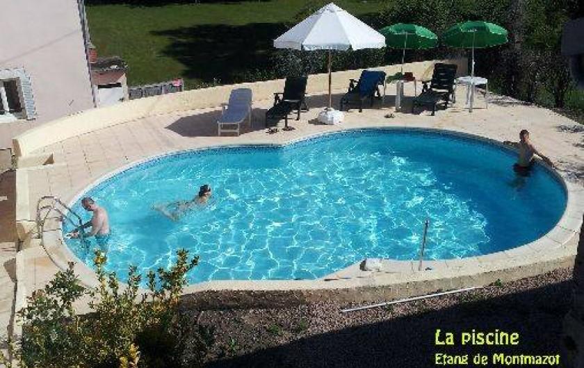 G tes avec piscine p che restauration avec r servation l for Auvergne gites avec piscine