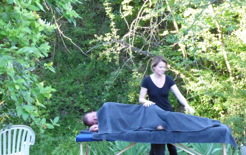 Location de vacances - Gîte à Marsanne - gite lorette scoot nomad location vacances tourisme marsanne massage