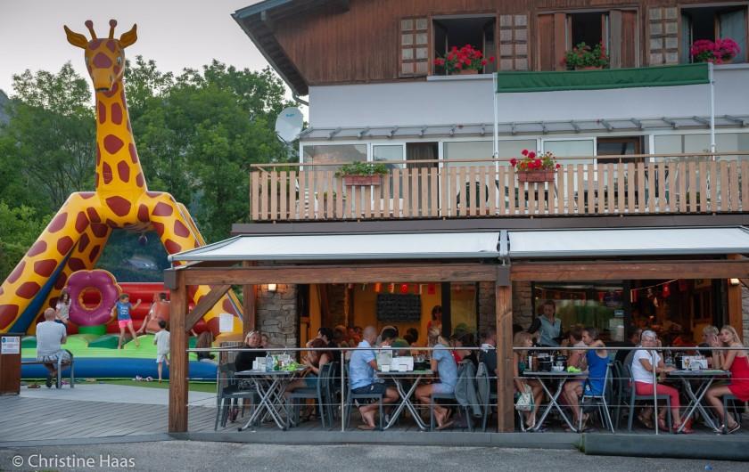 Location de vacances - Camping à Lathuile - Restaurant