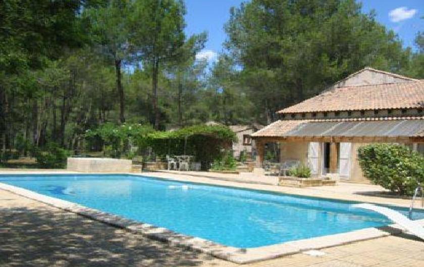 Location de vacances - Gîte à Villetelle - piscine 13m x 7m