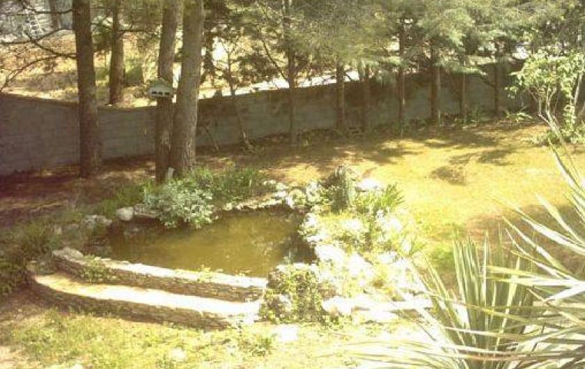 Location de vacances - Gîte à Villetelle - bassin