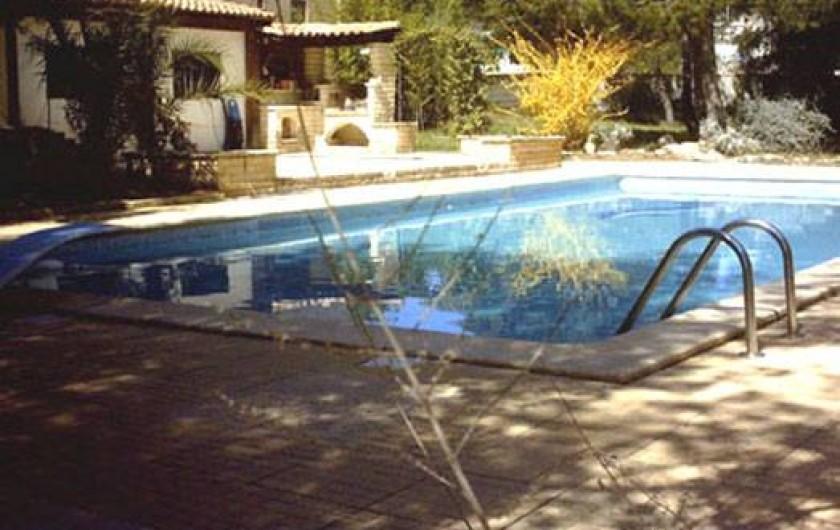 Location de vacances - Gîte à Villetelle - piscine