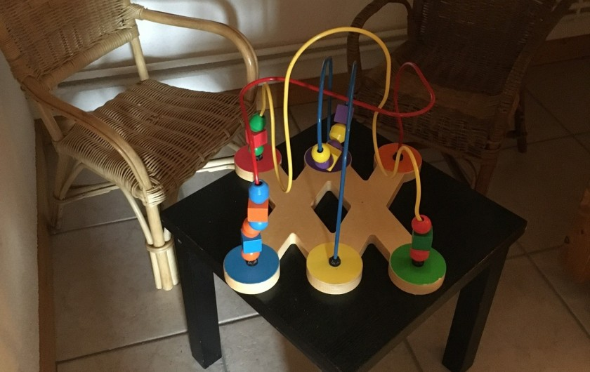 Location de vacances - Chalet à La Bresse - jeu pour enfants