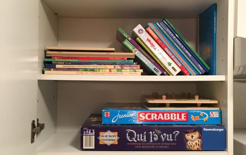 Location de vacances - Chalet à La Bresse - jeux et livres pour enfants