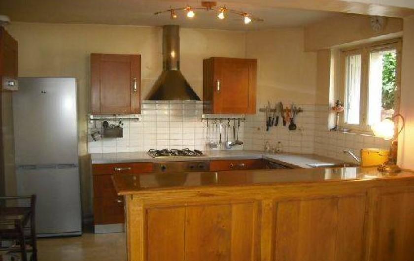 Location de vacances - Appartement à Nîmes - cuisine