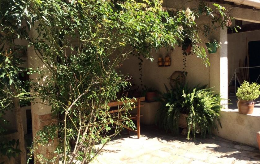 Location de vacances - Appartement à Nîmes - cuisine d'été
