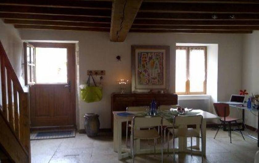 Location de vacances - Maison - Villa à Viserny - salon/salle à manger