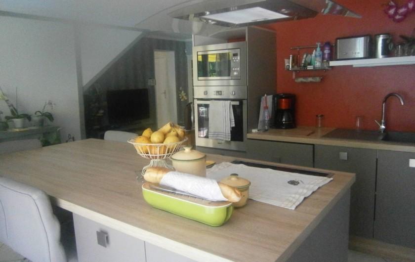 Location de vacances - Villa à Saint-Paul-et-Valmalle - coin cuisine