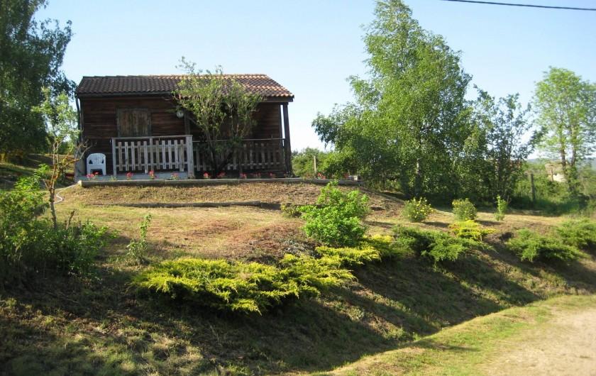 Location de vacances - Chalet à Le Malzieu-Ville - Chalet avec vue sur la nature. Deux chalets avec différentes vues.