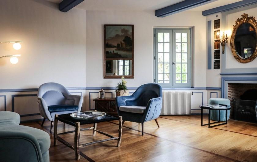 Location de vacances - Hôtel - Auberge à Brantôme - Salon