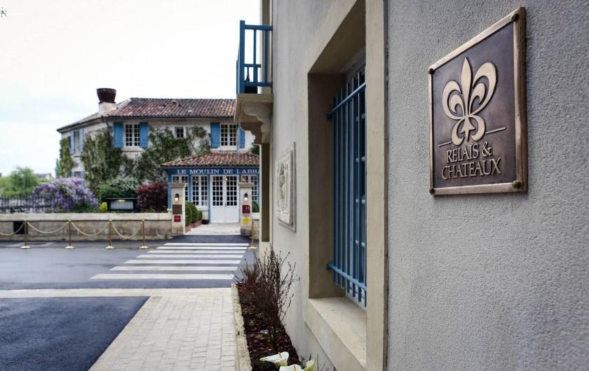 Location de vacances - Hôtel - Auberge à Brantôme - Entrée Hôtel
