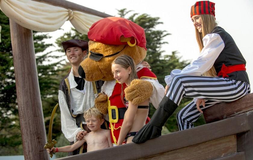 Location de vacances - Camping à Brem-sur-Mer - Animations d'avril à novembre avec notre mascotte Capitain' Pirate