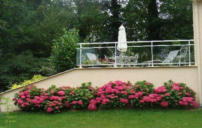 Location de vacances - Gîte à Arromanches-les-Bains - Hortensia