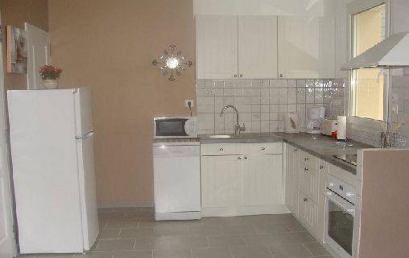 Location de vacances - Gîte à Arromanches-les-Bains - La cuisine