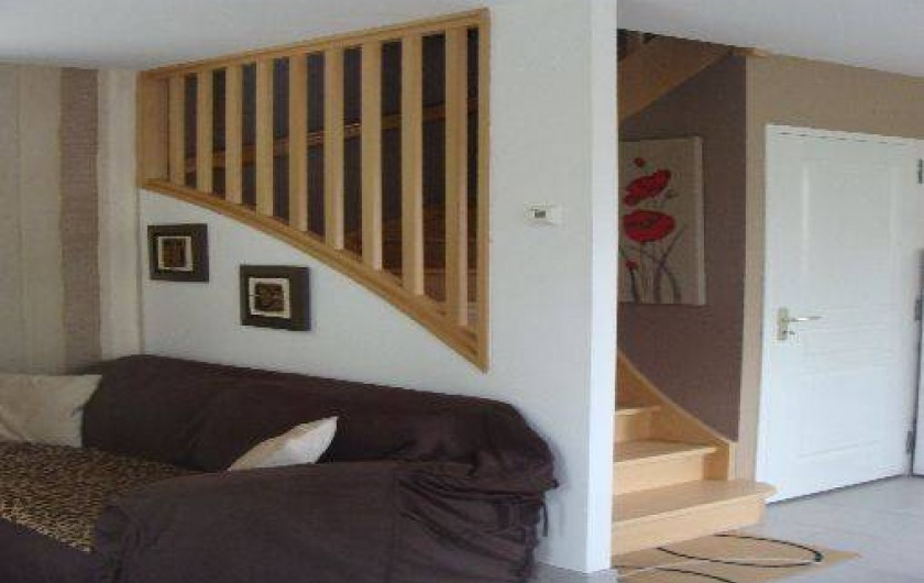 Location de vacances - Gîte à Arromanches-les-Bains - L'escalier