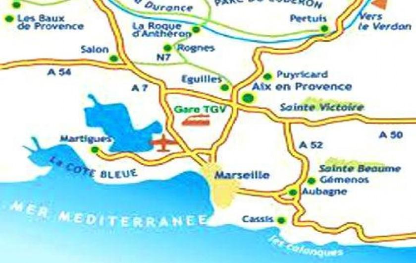 Location de vacances - Gîte à La Tour-d'Aigues