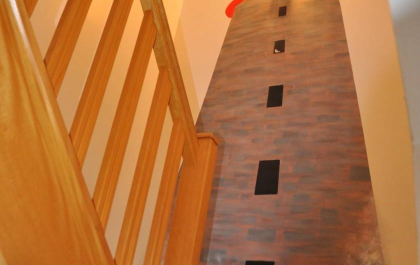 Location de vacances - Gîte à Lannion - Escalier