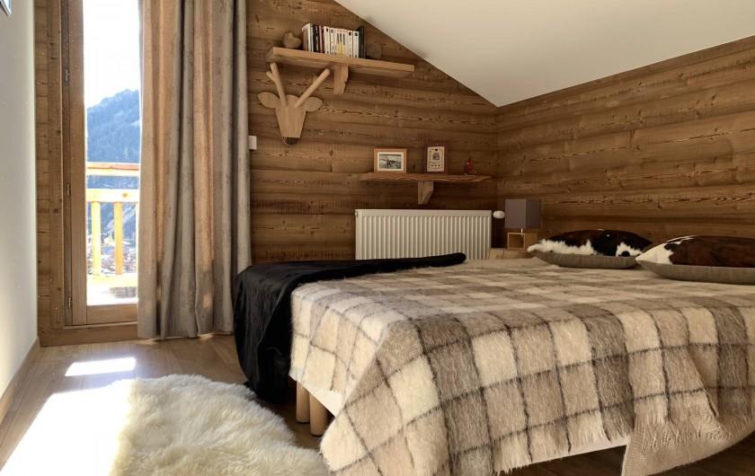 Location de vacances - Chalet à Pralognan-la-Vanoise - chambre n°2 à l'étage