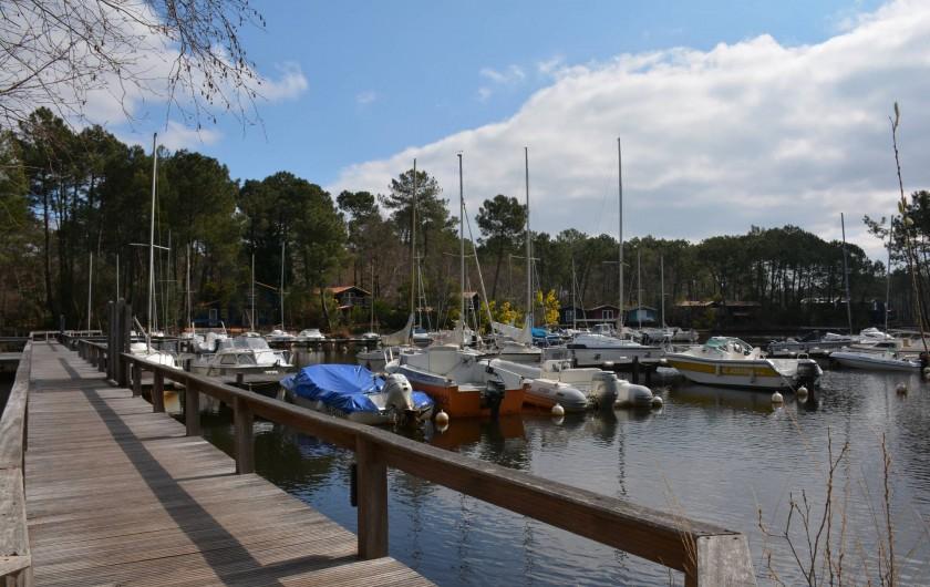 Location de vacances - Chalet à Lacanau - La Marina