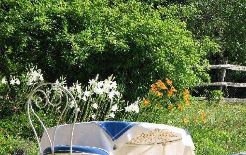 Location de vacances - Chambre d'hôtes à Velluire - Côté jardin