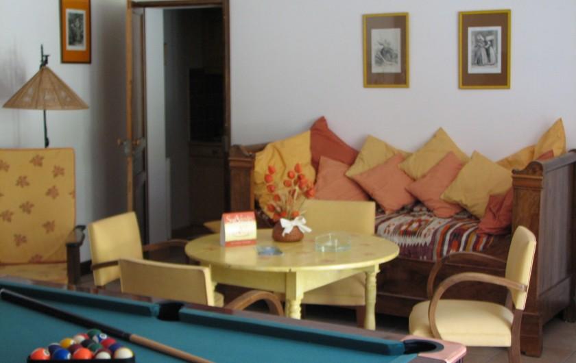 Location de vacances - Chambre d'hôtes à Velluire - Séjour