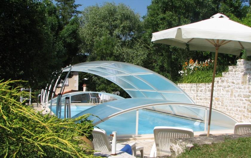 Location de vacances - Chambre d'hôtes à Velluire - Piscine