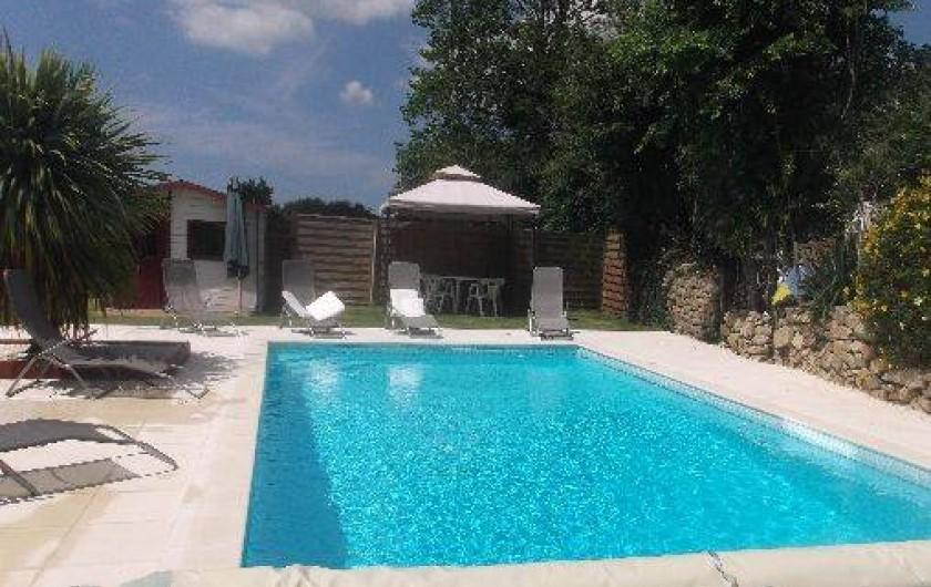 Location de vacances - Villa à Plouhinec - Piscine