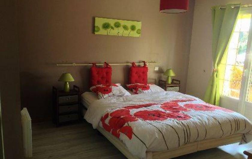 Location de vacances - Villa à Plouhinec - Chambre rdc lit 160
