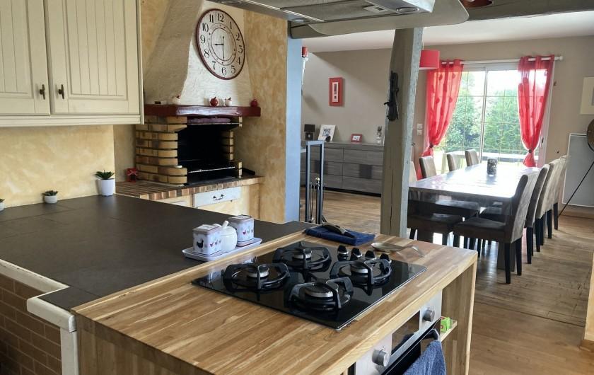 Location de vacances - Villa à Plouhinec - cuisine
