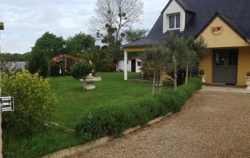 Location de vacances - Villa à Plouhinec - jardin
