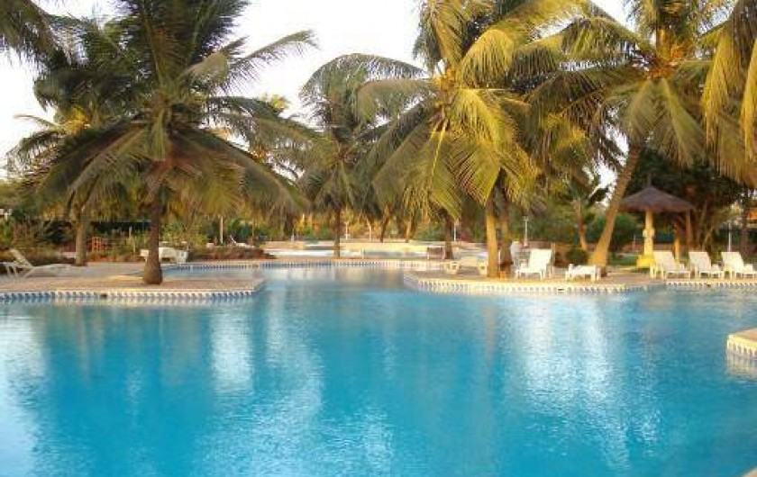 Location de vacances - Villa à Saly - PISCINE DE LA COPROPRIÉTÉ
