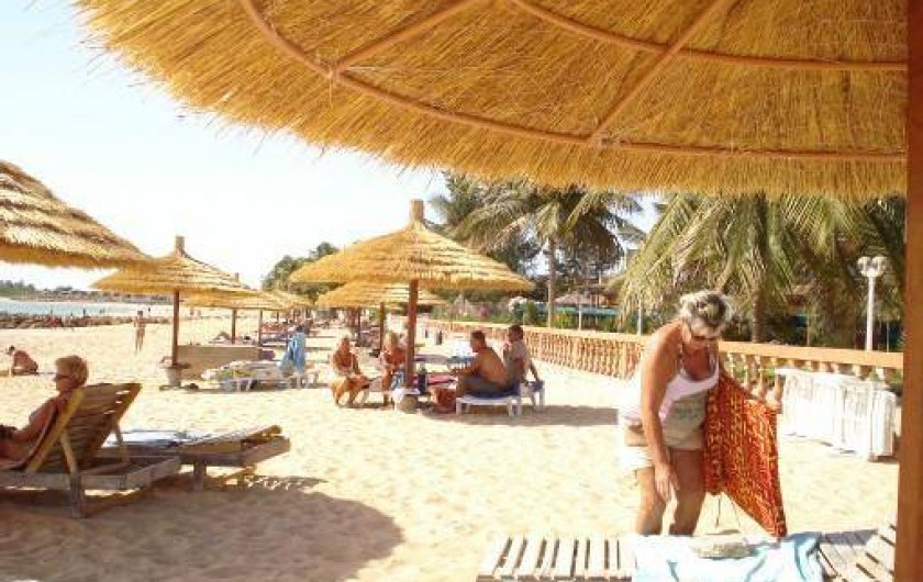 Location de vacances - Villa à Saly - PLAGE DE SAFARI VILLAGE