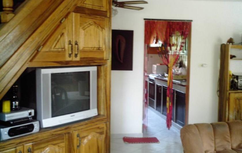 Location de vacances - Villa à Saly - MEUBLE ET TELEVISION