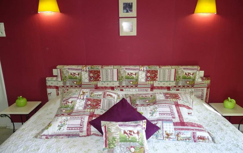 Location de vacances - Chambre d'hôtes à Bréville-les-Monts - chambre Campagne  lits jumeaux