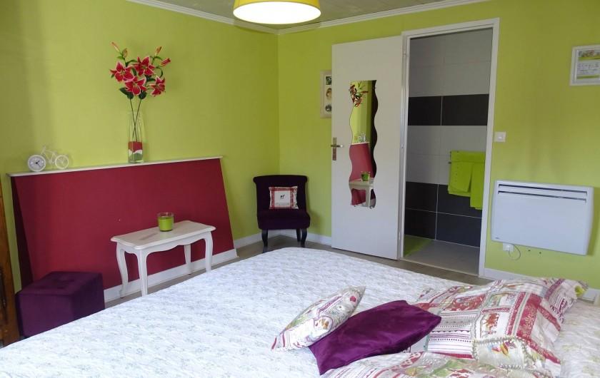 Location de vacances - Chambre d'hôtes à Bréville-les-Monts - chambre Campagne