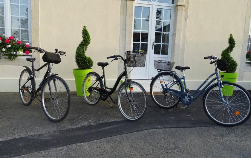 Location de vacances - Chambre d'hôtes à Bréville-les-Monts - vélos à dispositions