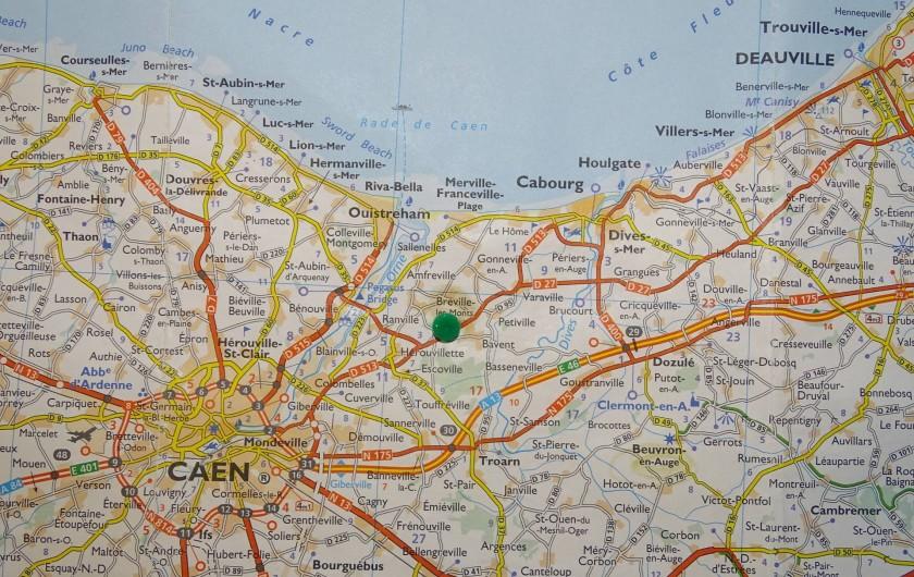 Location de vacances - Chambre d'hôtes à Bréville-les-Monts - pour vous situer