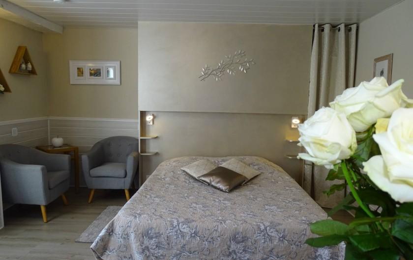 Location de vacances - Chambre d'hôtes à Bréville-les-Monts - chambre Pays d'auge