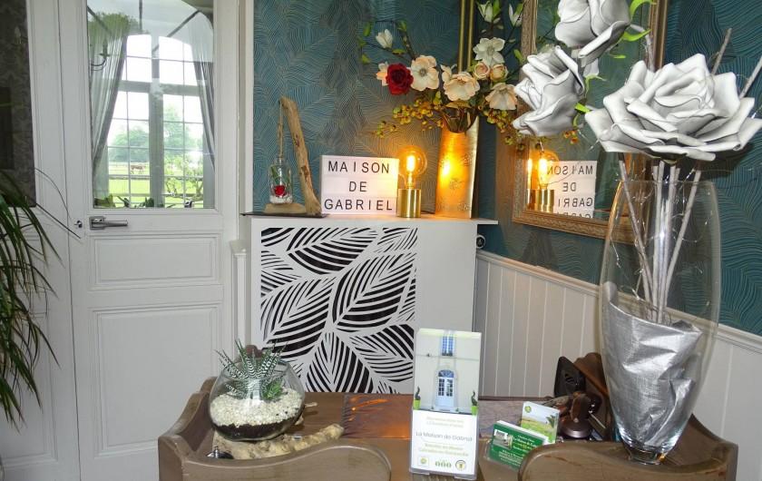 Location de vacances - Chambre d'hôtes à Bréville-les-Monts - L'accueil