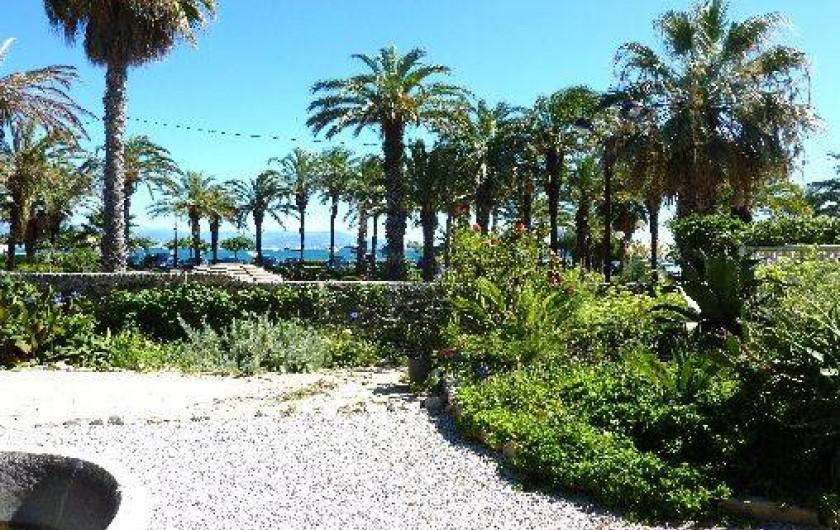 Location de vacances - Villa à Juan les Pins