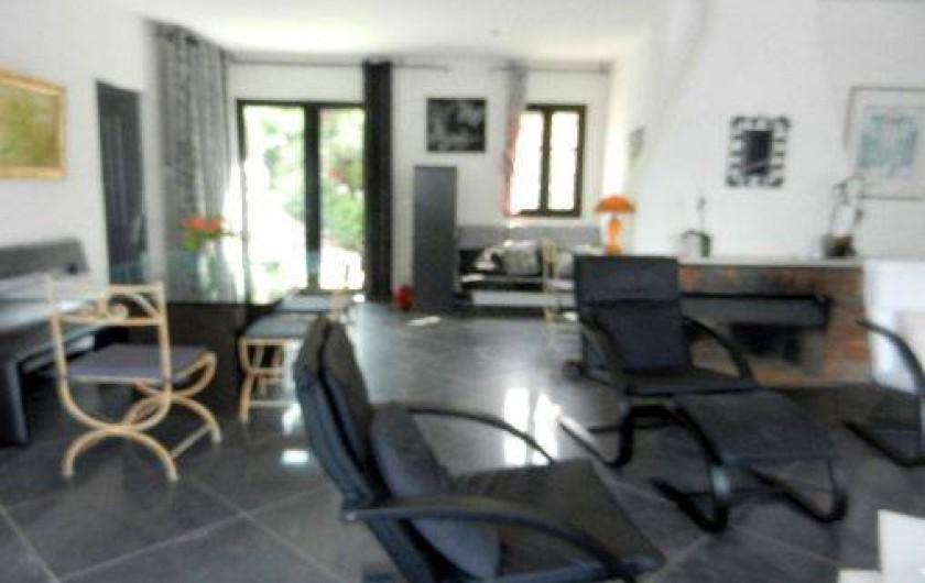 Location de vacances - Villa à Juan les Pins - Salon
