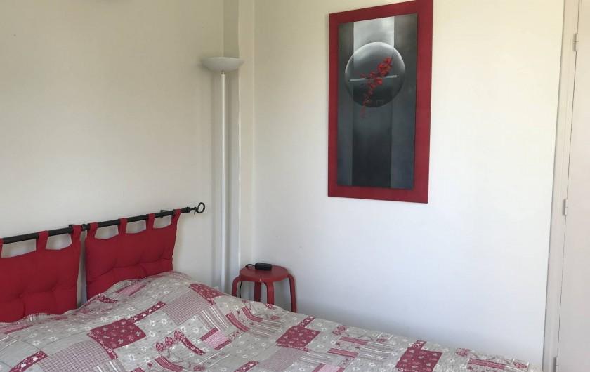 Location de vacances - Villa à Juan les Pins - Chambre 1