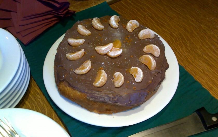 Location de vacances - Chalet à La Tania - Gâteau pour gouter