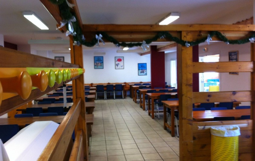 Location de vacances - Centre de vacances à Vars - Salle à manger 1