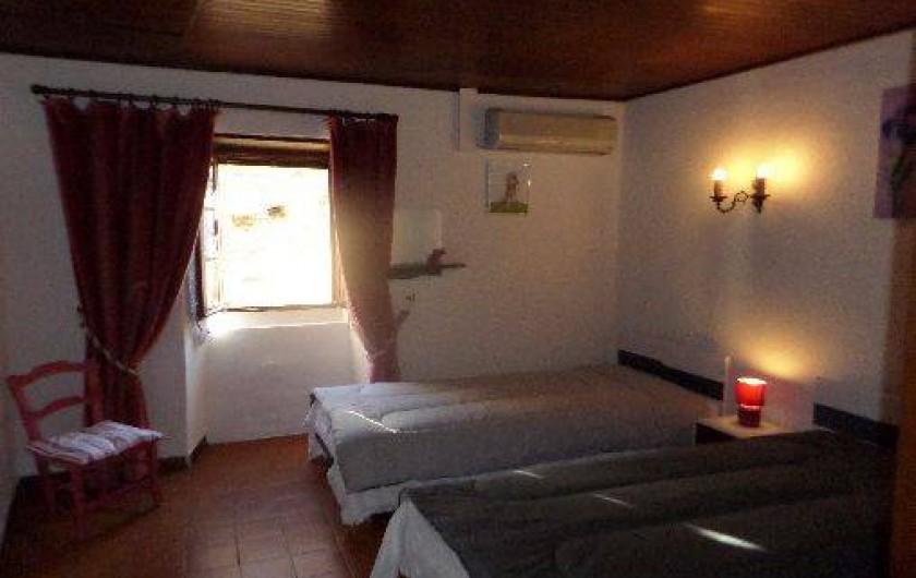 Location de vacances - Maison - Villa à Oletta - Chambre n°1 Orienté nord est au niveau deux