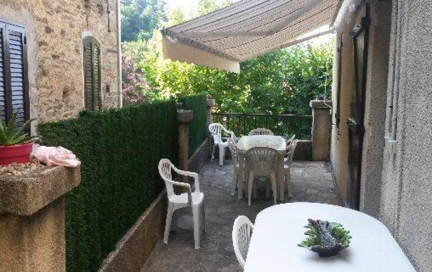 Location de vacances - Maison - Villa à Oletta - Terrasse extérieur
