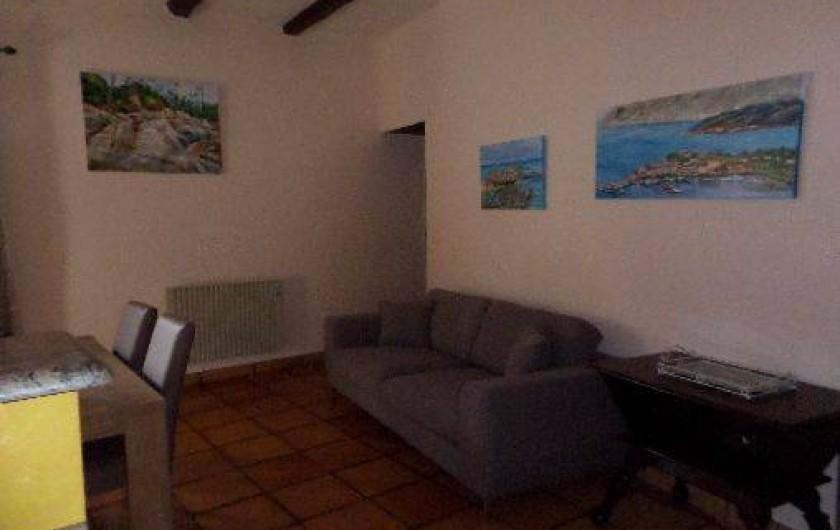 Location de vacances - Maison - Villa à Oletta - Salon rez de chaussée
