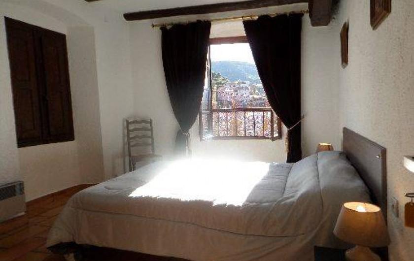 Location de vacances - Maison - Villa à Oletta - Chambre n°4 orienté sud niveau un avec vue imprenable