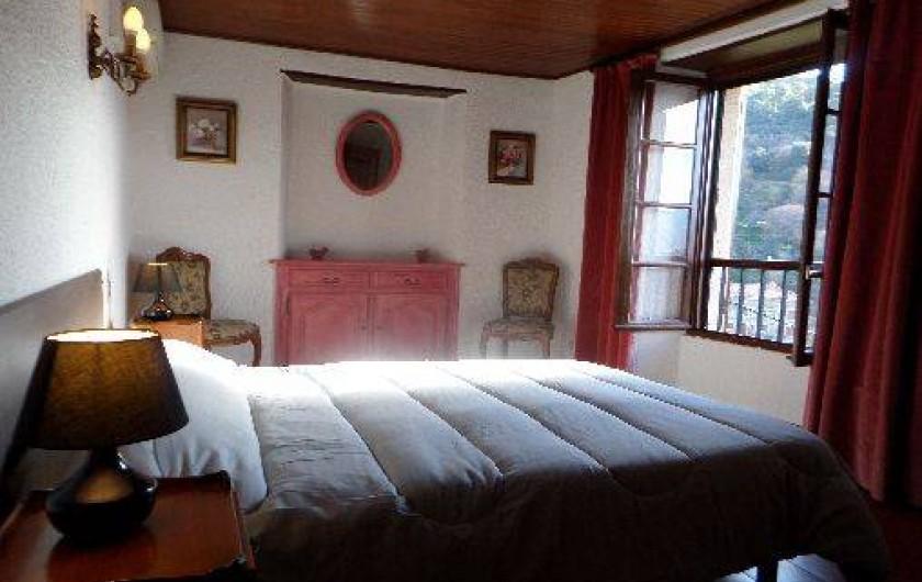 Location de vacances - Maison - Villa à Oletta - Chambre n°2 Orienté coté sud avec vue sur la montagne  Niveau deux